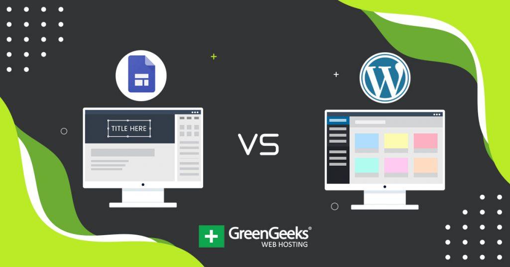 Google Sites vs WordPress