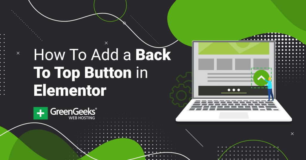 Add Back To Top Button Elementor