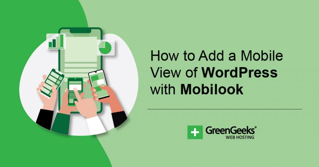 Mobile View Mobilook WordPress