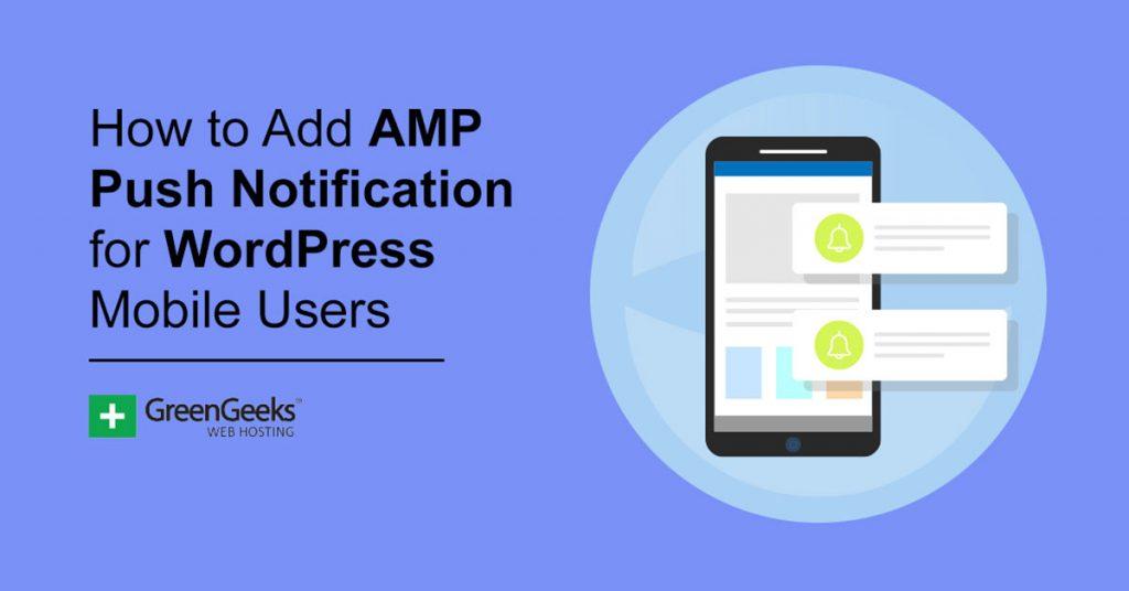 AMP Push Notifications WordPress